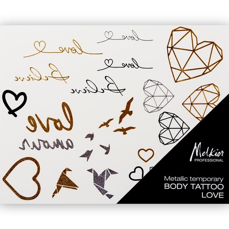 14603 Tatuaj metalic