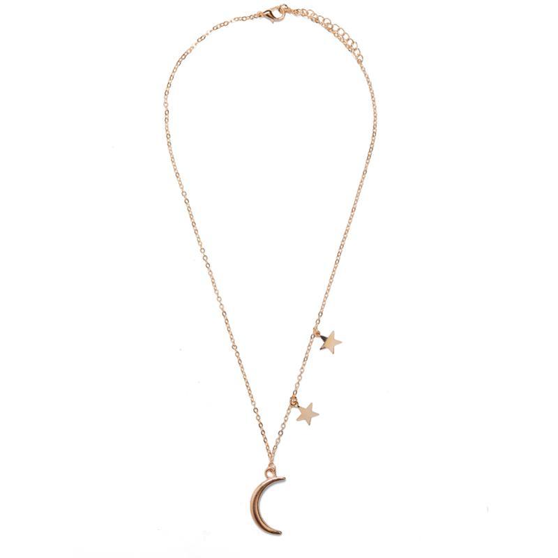 24913 Colier auriu luna si stele
