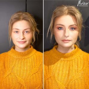 Le maquillage sophistiqué de Yulia