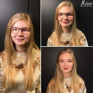 Le make-up de Charlotte