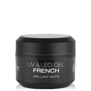 UV&LED FRENCH GEL BRILLANT WHITE 5ML
