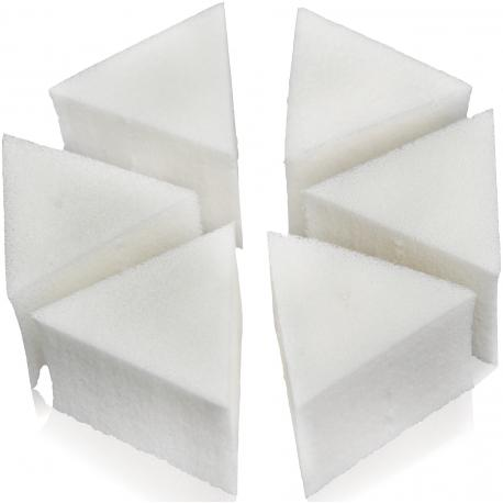 ÉPONGE MAQUILLAGE TRIANGULAIRE X 6PCS