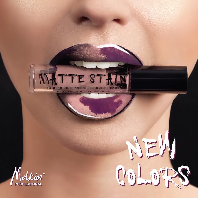 Retrouvez les nouvelles nuances de rouge à lèvres liquide mat!
