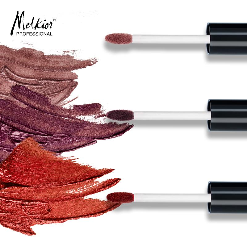 Découvrez les nouveaux rouges à lèvres liquides métallisés de Melkior!