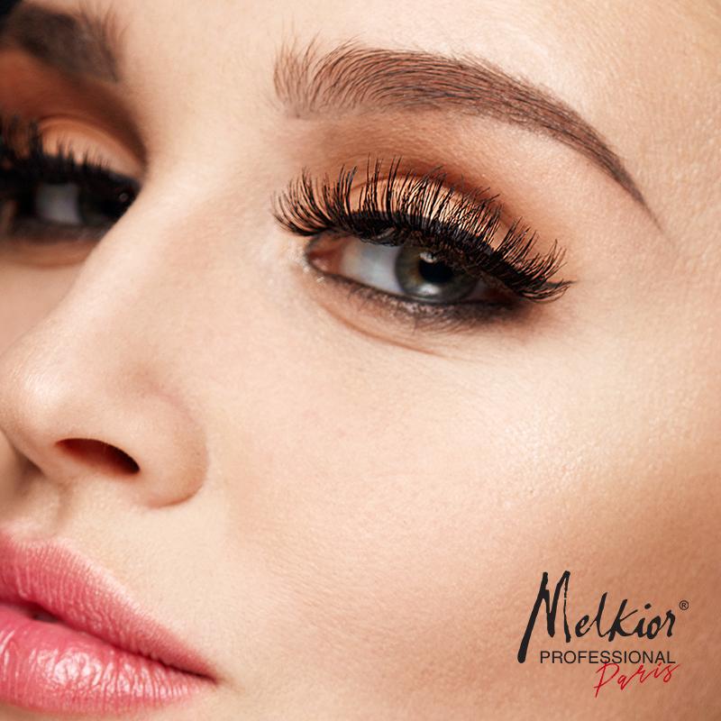 Portez les faux cils Melkior 3D Mink Style et vous aurez un look fabuleux!