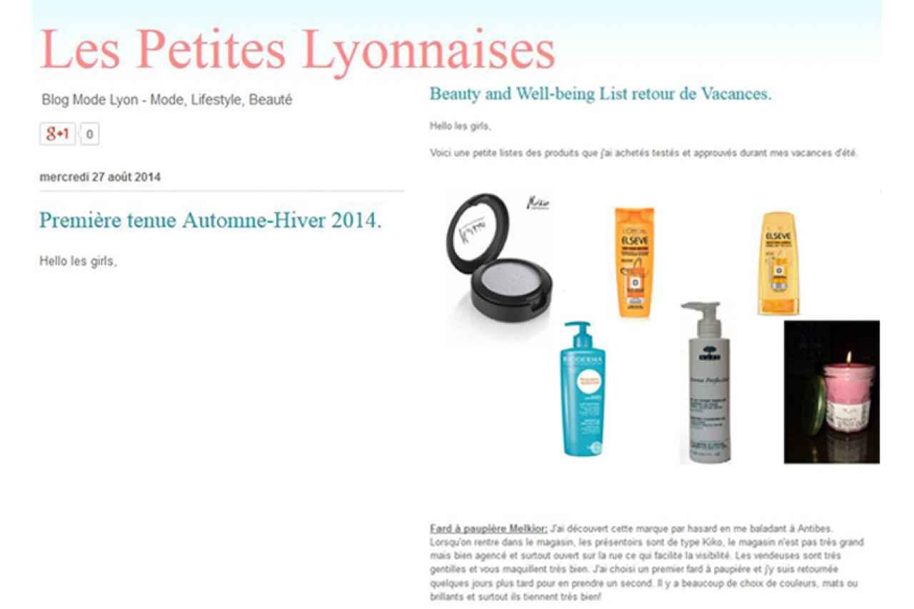 Les Petites Lyonnaises - Blog Mode Lyon - Mode, Lifestyle, Beauté