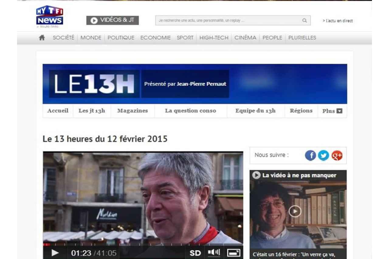 TF1 News - Janvier 2015