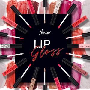 Voulez-vous des lèvres sensuelles sans avoir une sensation collante? Porter le brillant à lèvres Melkior!