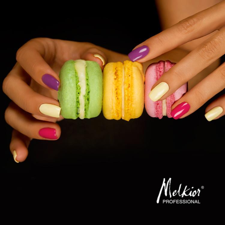 NOUVEAU! Vernis à ongles semi-permanent dans des couleurs délicieuses!